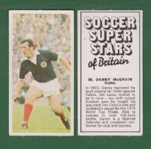 Glasgow Celtic Danny McGrain Scotland 58